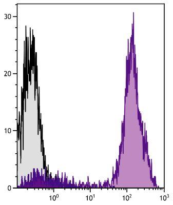 Abbildung: Ziege IgG anti-Maus IgG2a (Fc)-RPE-Cy5, MinX Hu